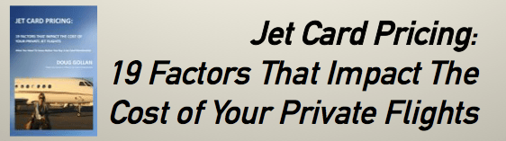 Jet Card Pricing - 19 Factors