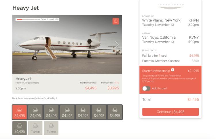 private jet charter price