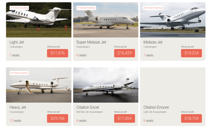 JetSmarter on-demand charter prices New York to Miami