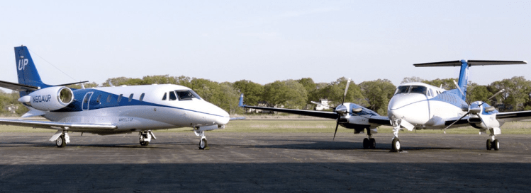 Wheels Up King Air price is $4,695 per hour plus FET