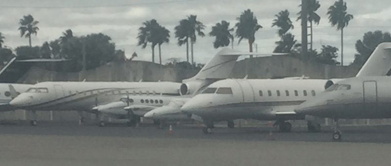 There were over 3 million private jet flights in the US in 2018