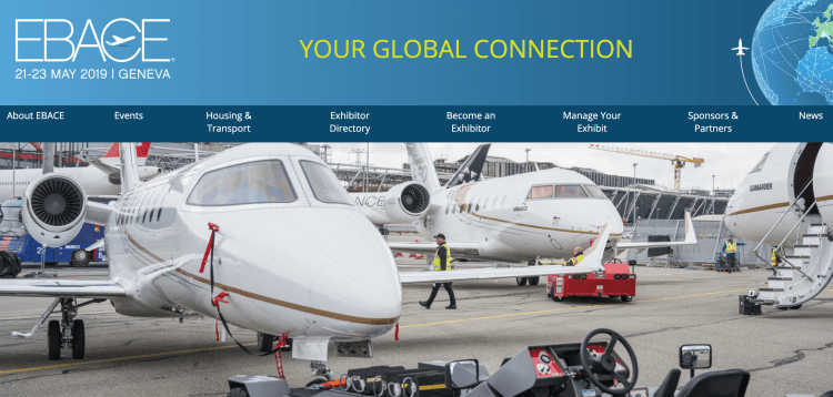 EBACE European Business Aviation Conference & Exhibition 2019