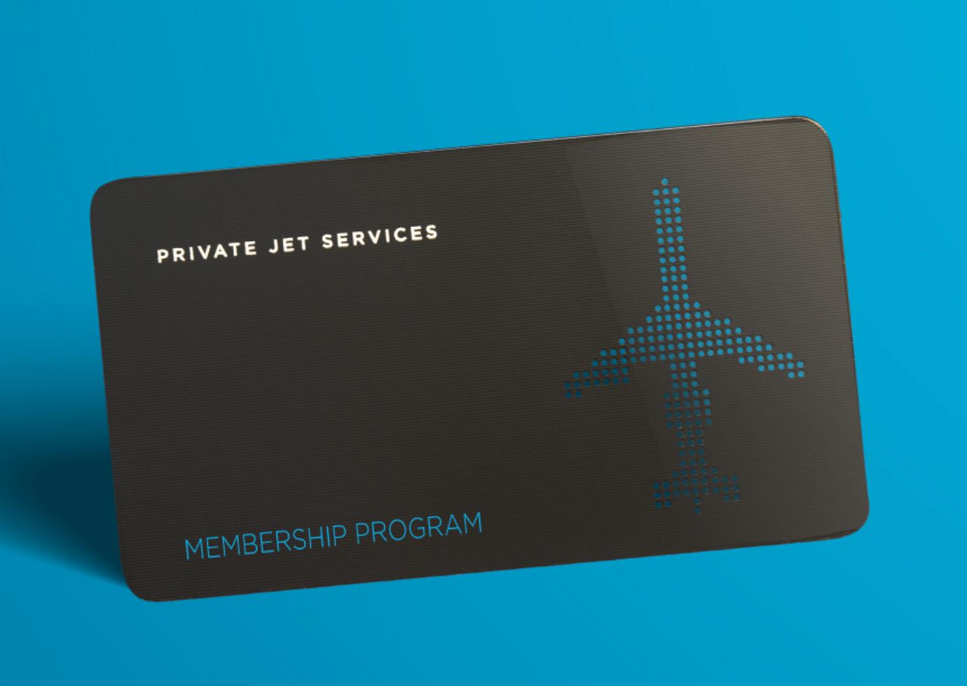 Private Jet Services PJS jet card