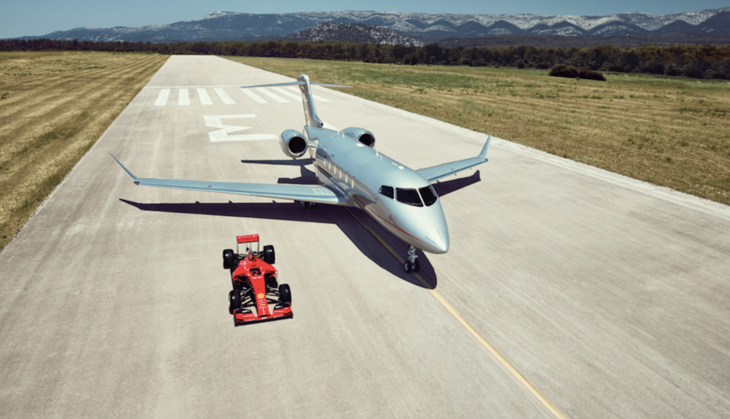 VistaJet Ferrari partnership