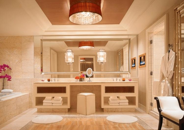 Encore Las Vegas Tower Suite bathroom