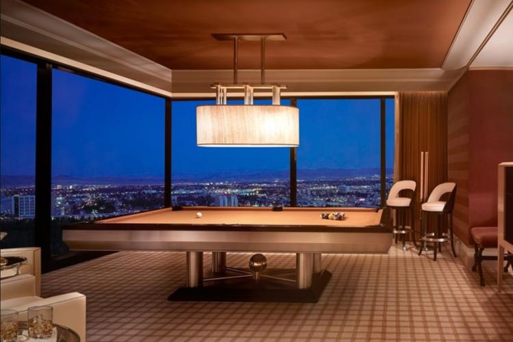 Encore Las Vegas billiard suite