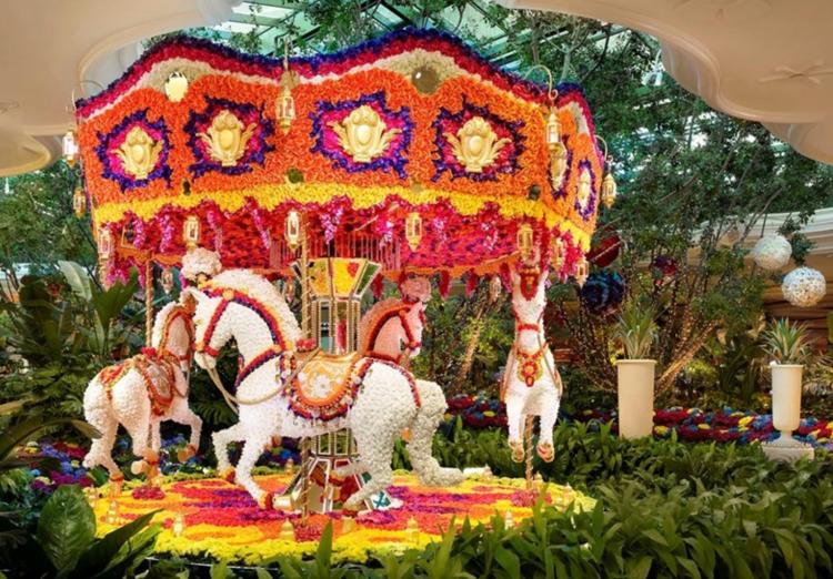 wynn las vegas carousel