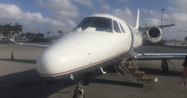 Rules for cancelling a private jet charter flight