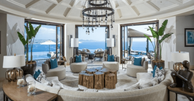 luxury villas in Los Cabos