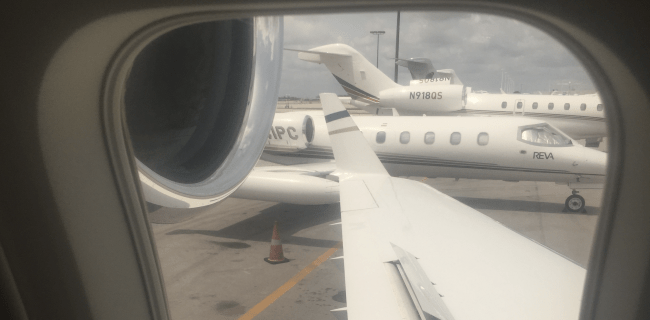 Private aviation M&A