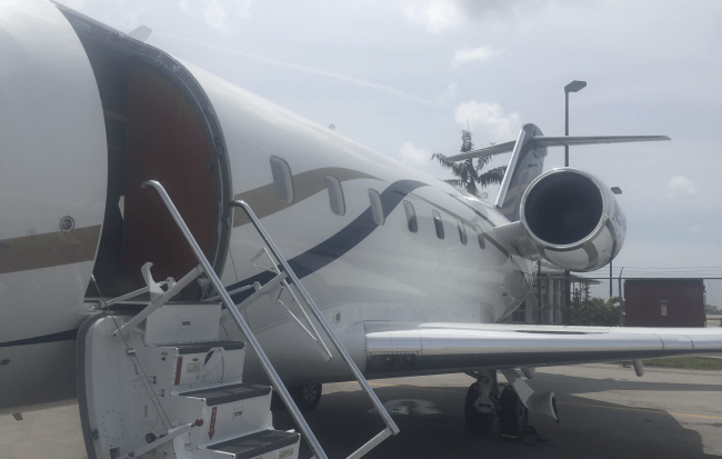 COVID private jet travel trends
