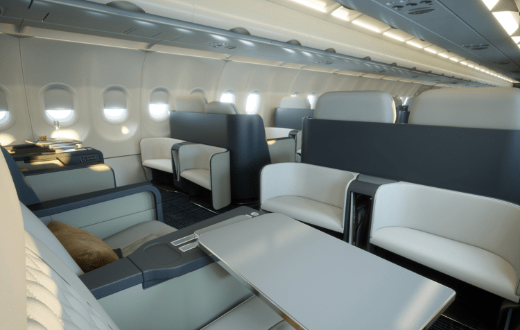 Airbus A320 NEO private jet