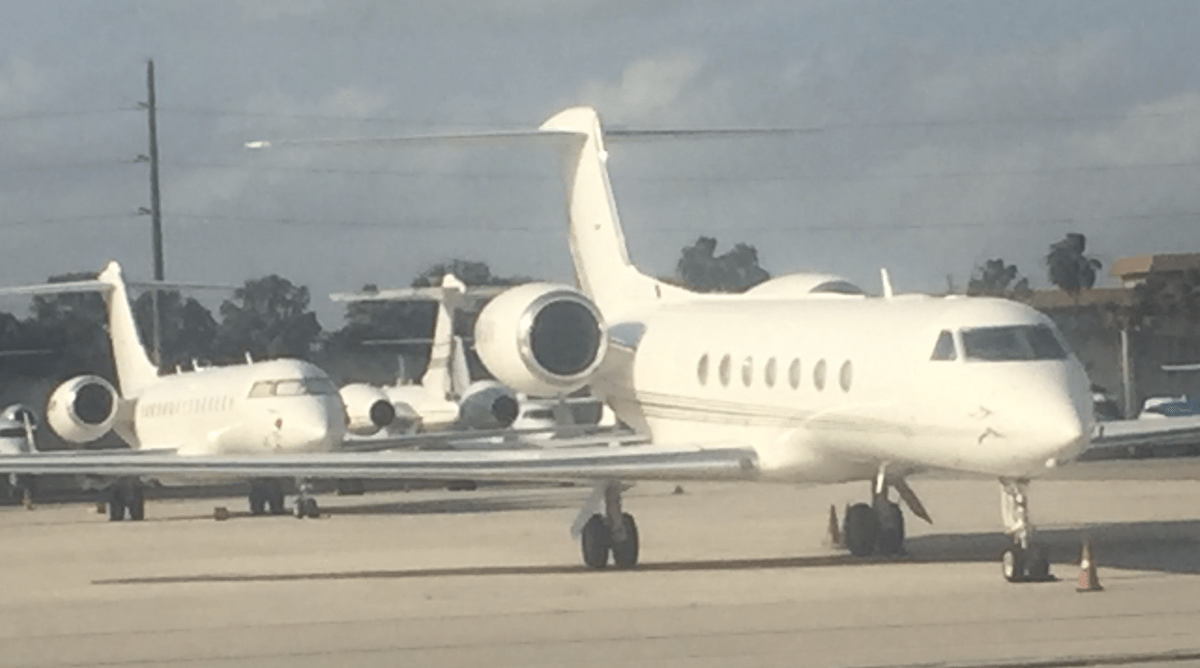 Private Jet deliveries 2015 to 2020