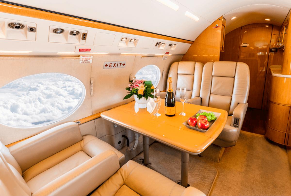 Gulfstream GIV-SP interior