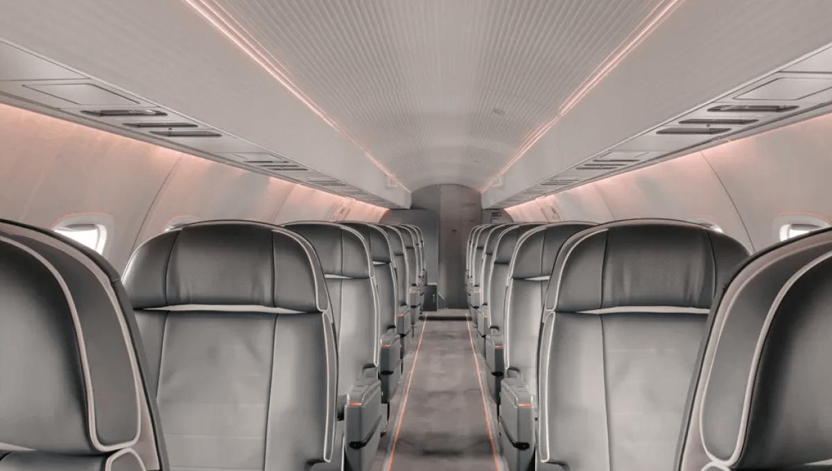Aero cabin interior