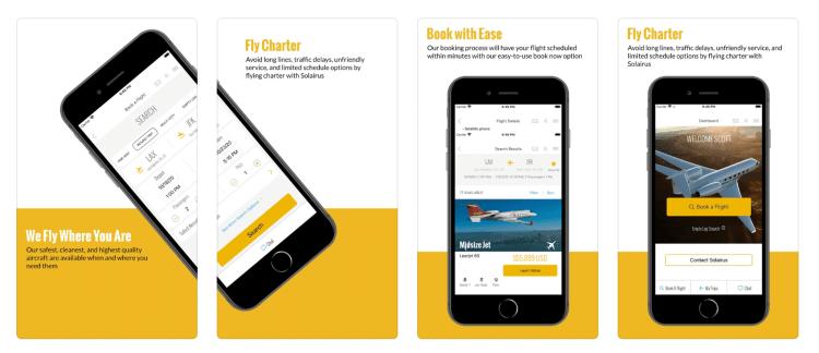 Solairus Aviation app