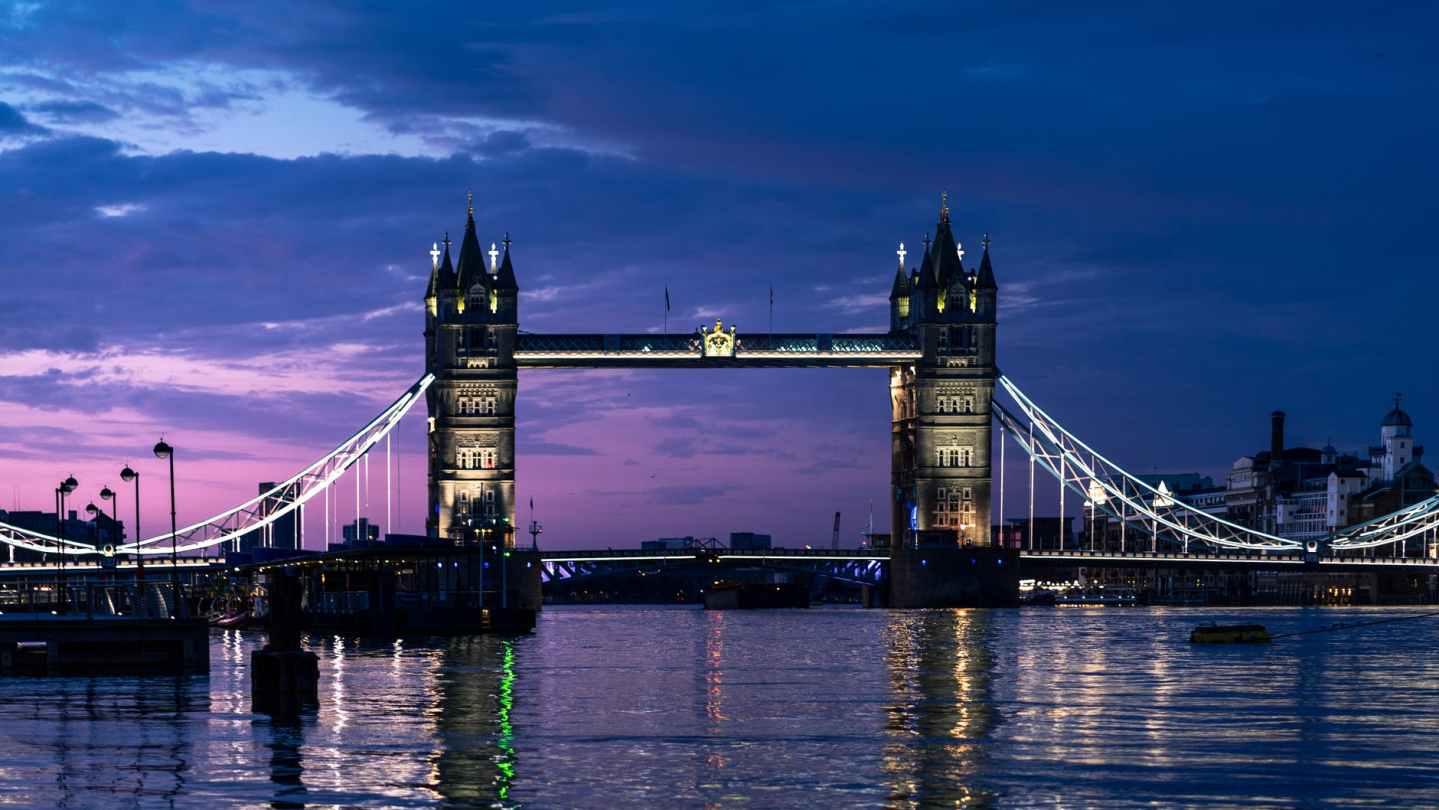 photo of bridge during daybreak