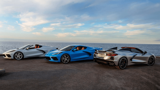 the new 2021 c8 corvette comes with new standard features
