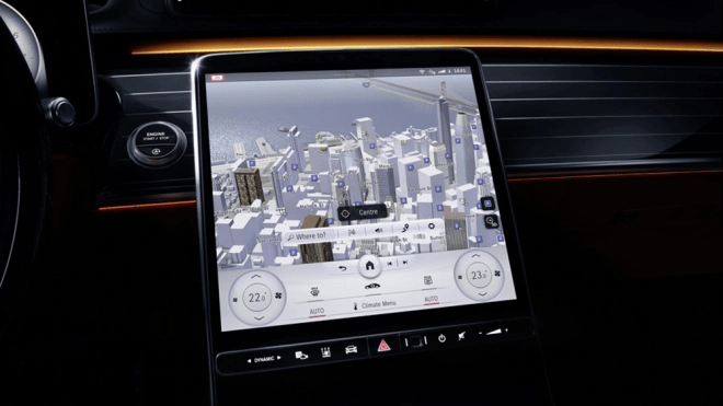 Mercedes-Benz's New S-Class Will Have Screens & Facial Recognition—for Every Passenger