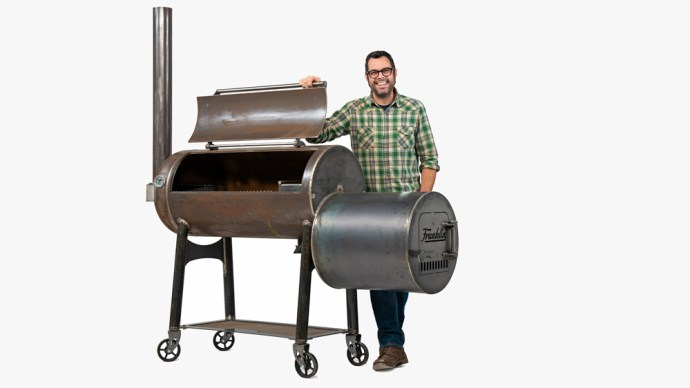 Franklin Barbecue Pit by Aaron Franklin