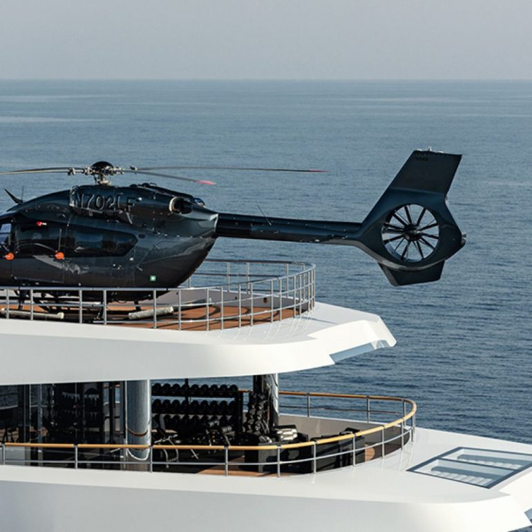 The AW169 helicopter