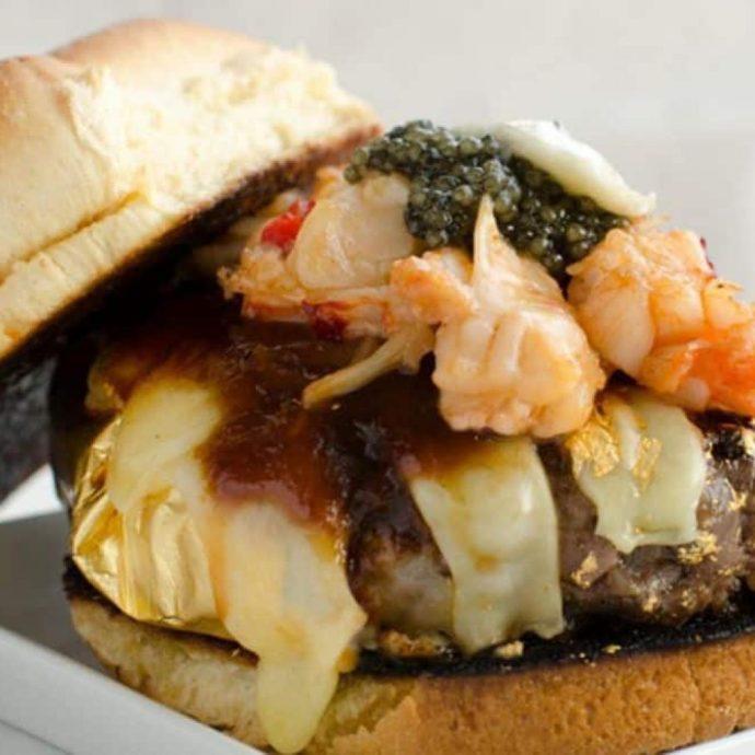 The Douche Burger – $666