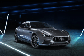 Maserati Just Unveiled Its First Electrified Car
