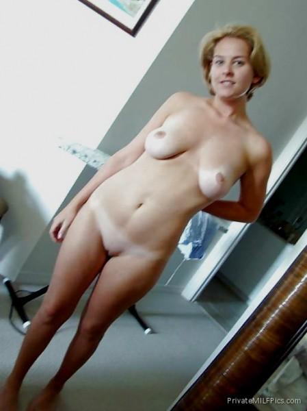 Cute Amateur Blonde Mom Naked
