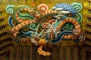 Dragon above Gwanse-eum Bosal (Buddha Hall)