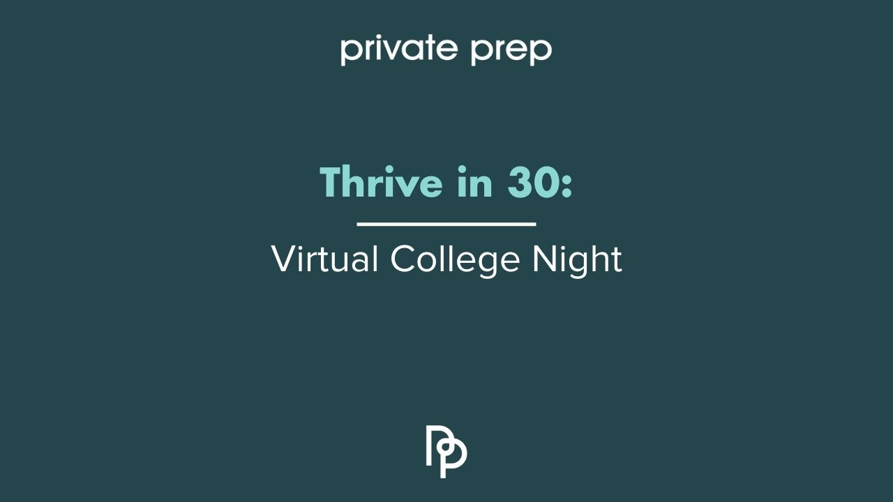 Virtual College Night