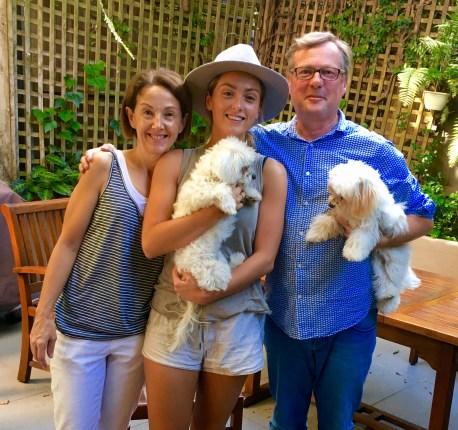 Linda, Molly & Michael (& Daisy & Baxter)