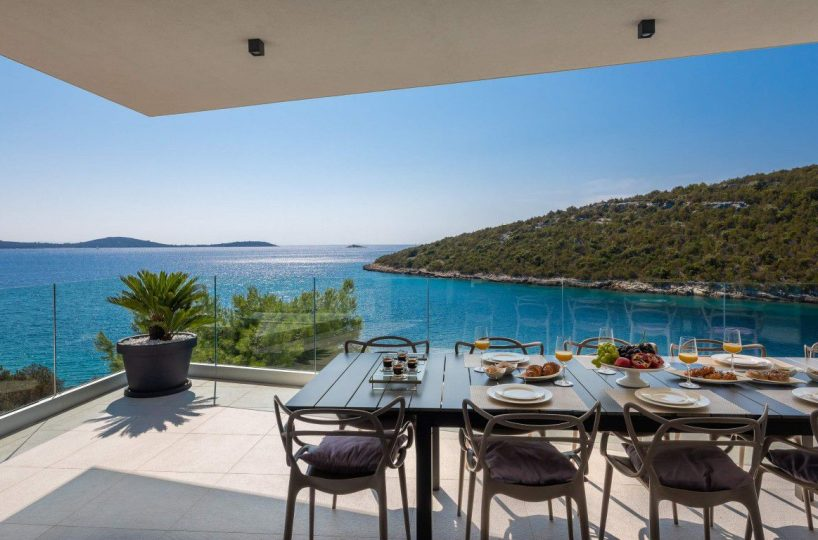 Sea view from the terrace of Villa Lavish