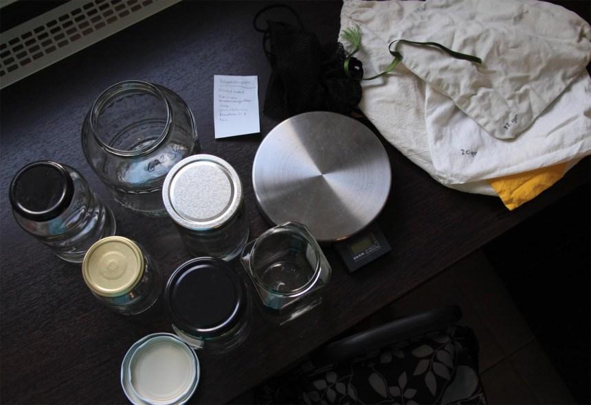 Vorbereitungen zum Zero Waste Einkauf