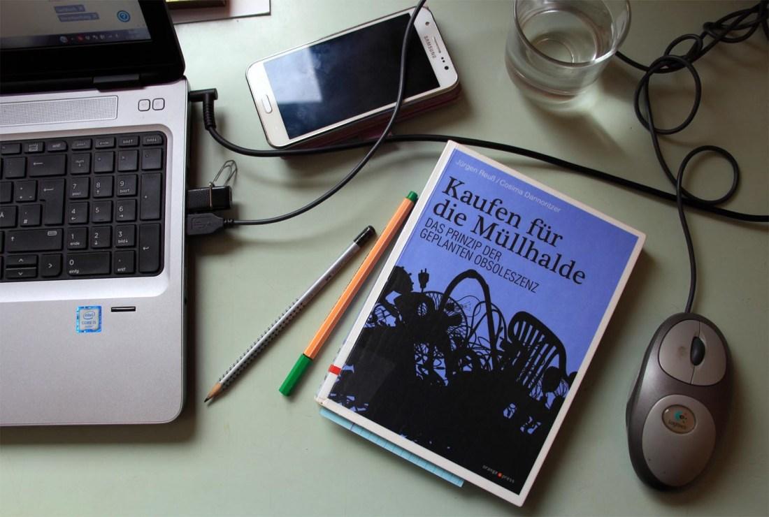 Buch zur geplante Obsoleszenz