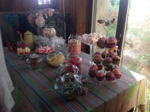 candy bar anniversaire