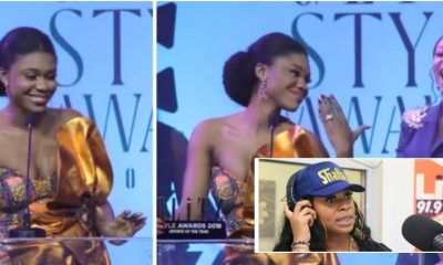 Becca, shatta michy, glitz style awards, slayed on the red carpet, red carpet, artiste of the year