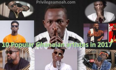 popular artistes in ghana, song of the year, known in showbiz circles, artistes in ghana, massive hit songs