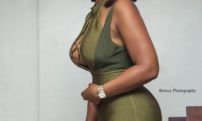 Hot Video : Sandra Ankobiah shows off her new big 'ass' and big 'boobs',flat ass,showbiz doesn't pay
