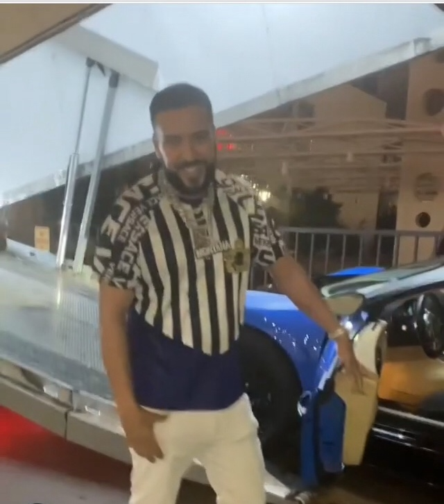French Montana acquires a Bugatti