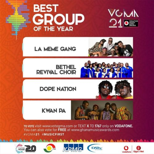 Best Group of the Year(Dope Nation)