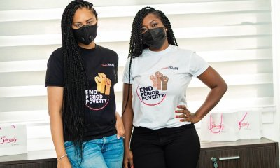 Menaye Donkor Muntari Launches 'Sister-2-Sister' campaign to help end period poverty