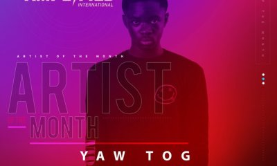Yaw Tog, BET International Artiste Of The Month