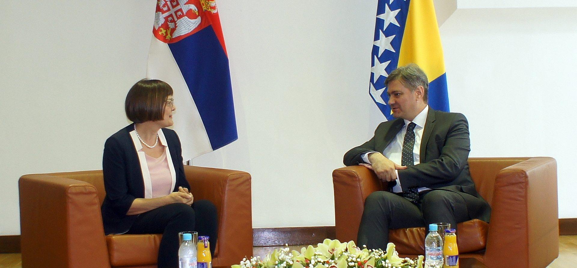 Predsjedavajući Zvizdić Sa Predsjednicom Gojković
