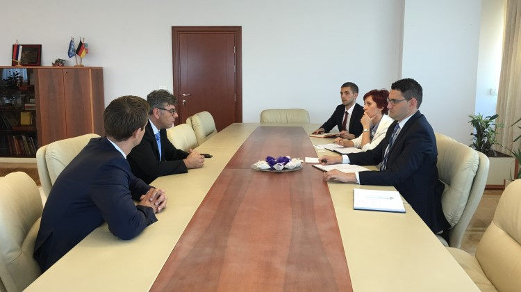 Ministar Klokić Sa Direktorom Adriatik Grupe 431632439