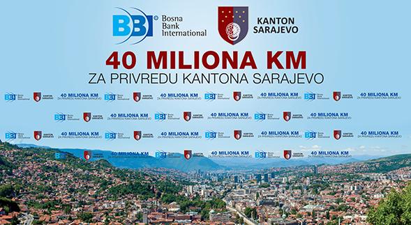 BBI I Kanton Sarajevo: 40 Miliona KM Za Privredu