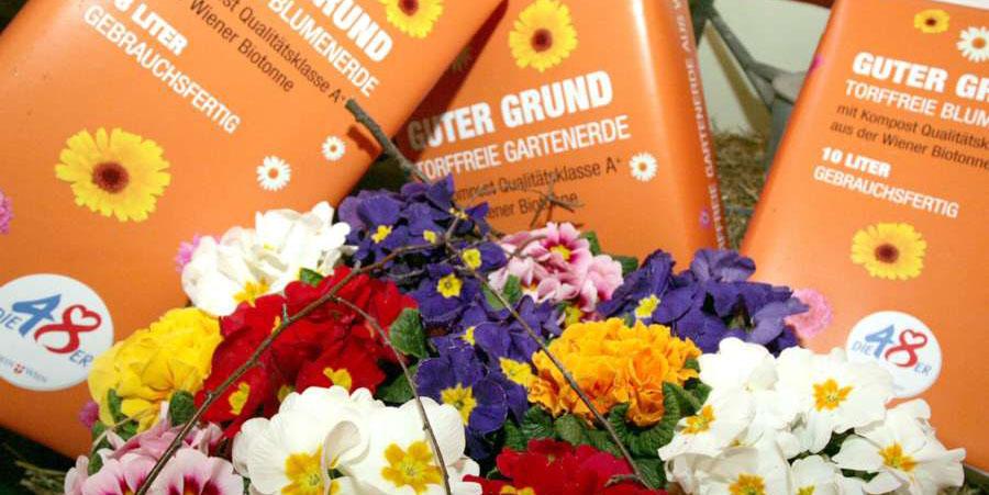 """""""Guter Grund"""" - Torffreie Blumenerde"""