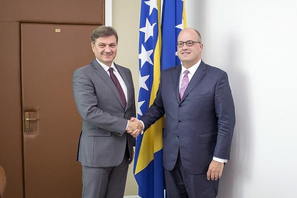 Predsjedavajući Zvizdić Primio U Oproštajnu Posjetu Ambasadora Mura