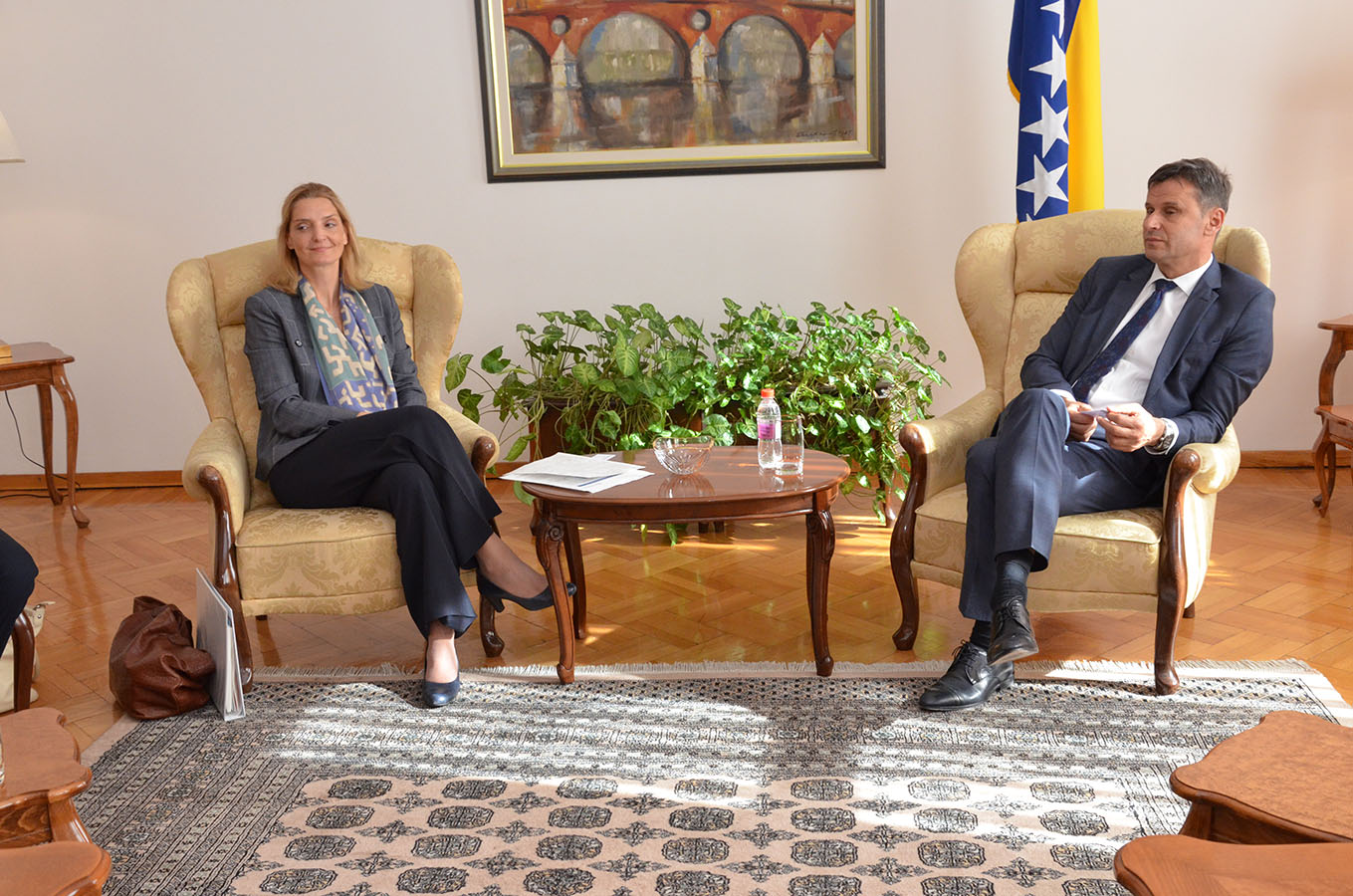 Premijer Novalić Primio Delegaciju Svjetske Banke