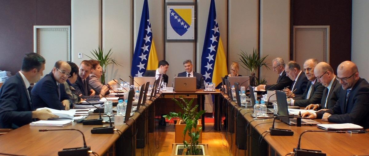 Održana 136. Sjednica Vijeća Ministara Bosne I Hercegovine