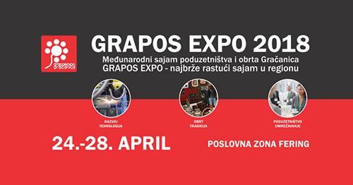 """Ovogodišnji """"Grapos Expo"""" Okupit će 340 Učesnika Iz šest Zemalja"""